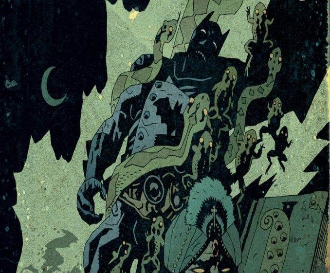 Batman vs Lovecraft
