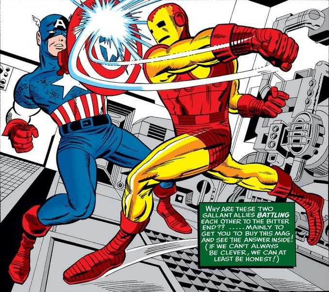 Captain America vs Iron Man Caméléon