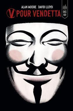 V for Vendetta Alan moore David Lloyd couverture