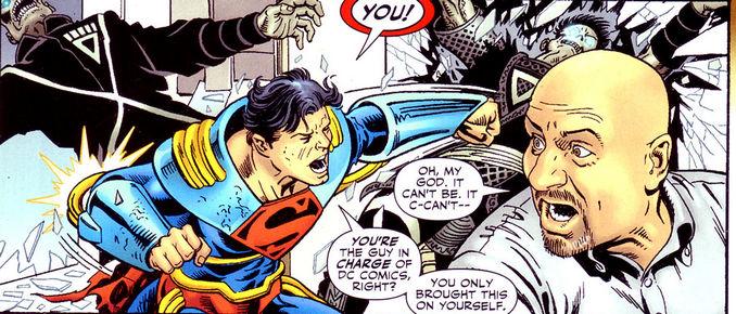 Adventure Comics Superman Prime Dan Didio