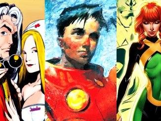 superhéros rajeunis