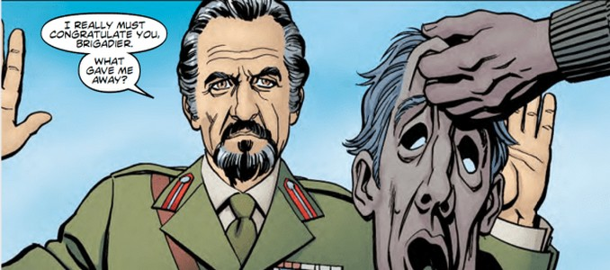 Third Doctor Who - Heralds of destruction couverture - le maitre démasqué