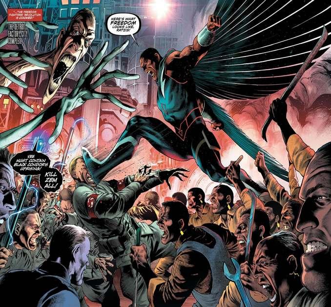 Black Condor & Friends vs Plastic Men
