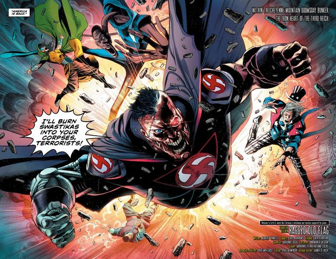 Overman vs Uncle Sam & Freedom Fighters