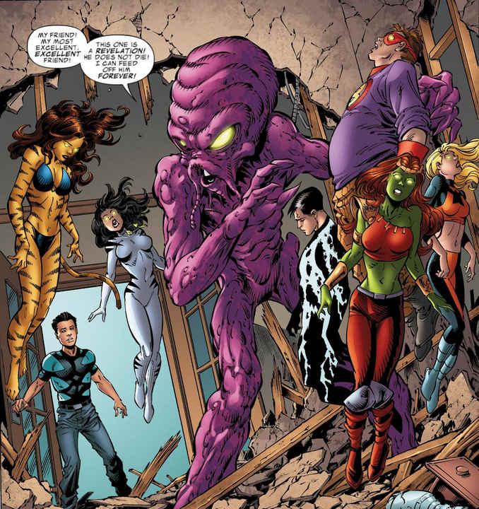 Hybrid Avengers Academy