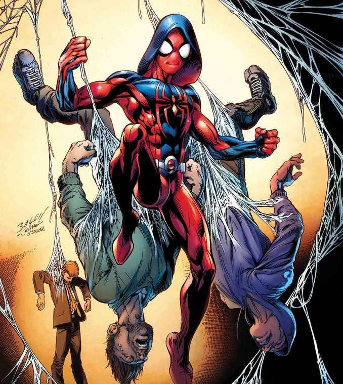 Ben Reilly Scarlet Spider Mark Bagley