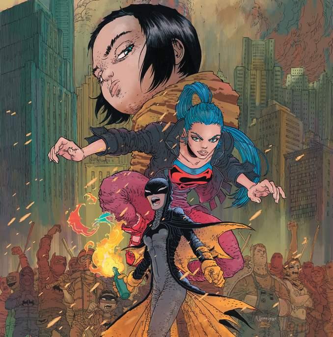 Batwoman, Superwoman et Jonathan Kent