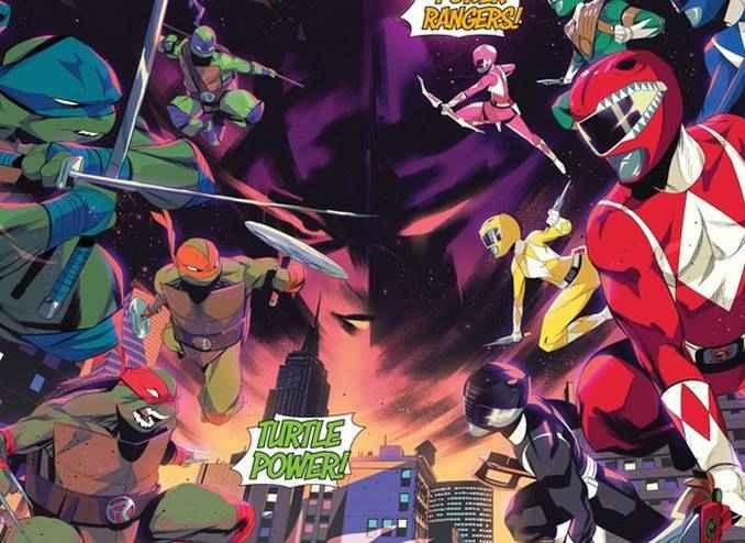 Tortues Ninja vs Power Rangers