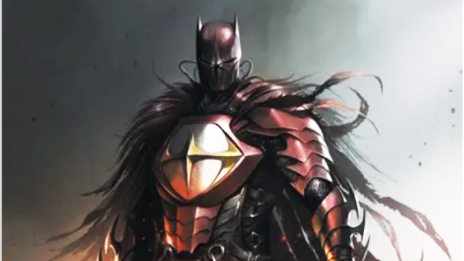 Batman metal multivers noir