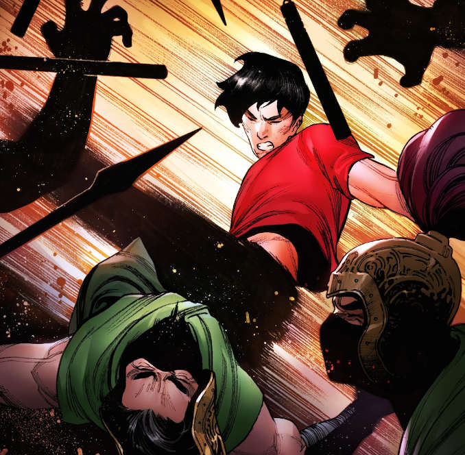 shang-chi kung-fu marvel comics