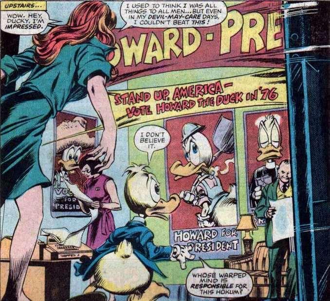 Howard the Duck Gene Colan Steven Gerber
