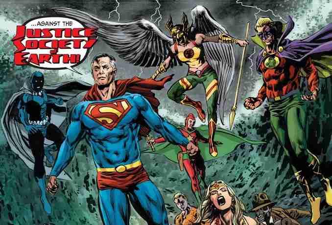Tales From Dark Multiverse - Crisis On Infinite Earths JSE