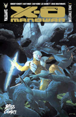 comics X-O Manowar intégrale