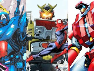 mechas Marvel comics