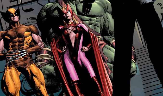 10 Scarlet Witch Marvel