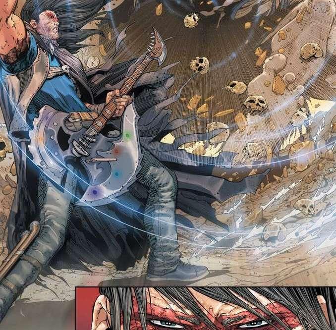 Nightwing qui gratte