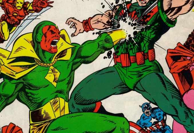 Ultron/Vision vs Wonder Man