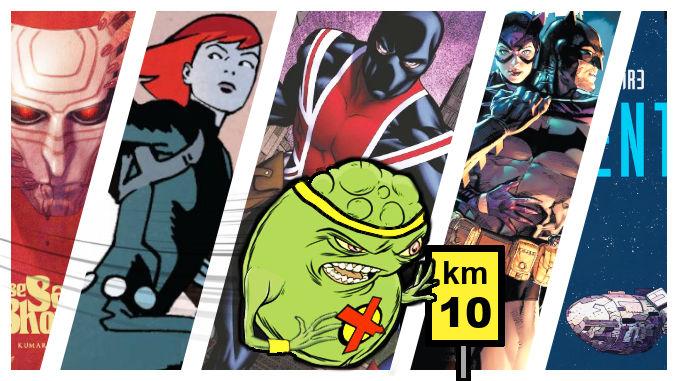 marathon comics critiques doopiennes 2