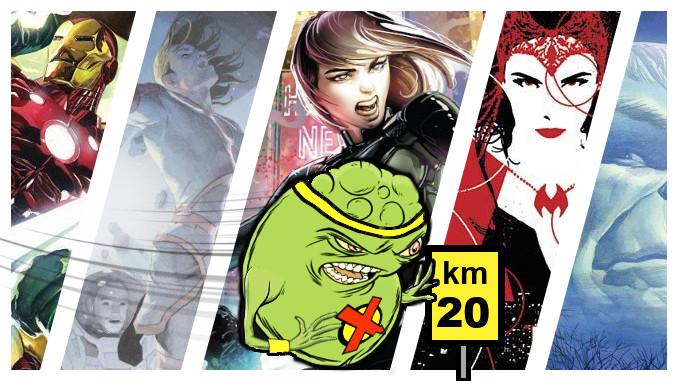 critique doopiennes marathon comics 4