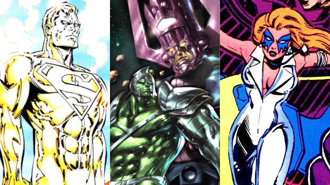 heraut galactus hulk dazzler superman