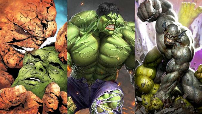 comics hulk défaites combats