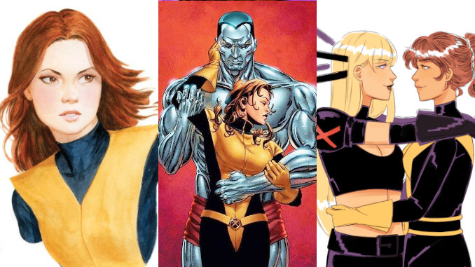 amours Kitty Pryde bisexuelle