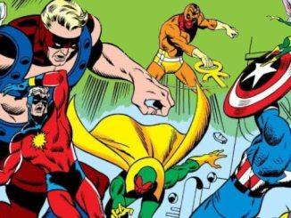 comics Avengers 72