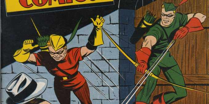 Green Arrow & Speedy 80 ans
