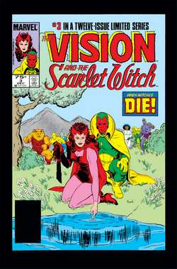 Vision et la Sorcière Rouge_Wandavision