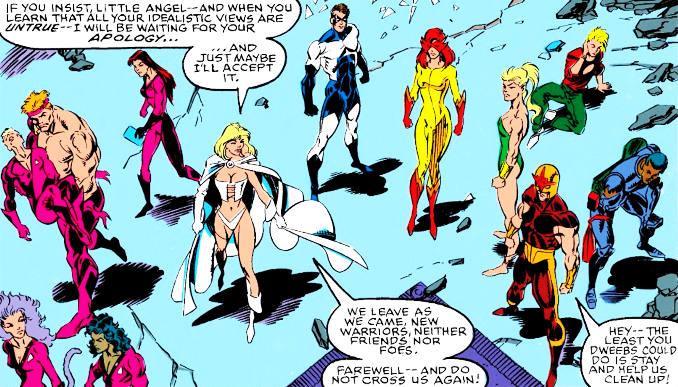 retro comics new warriors hellions