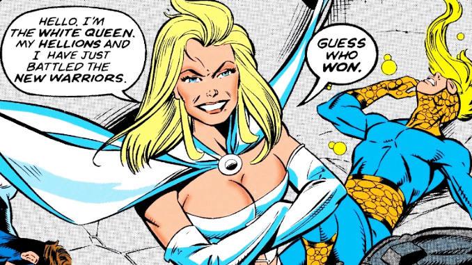 white queen emma frost retro comics new warriors hellions