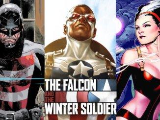 Falcon soldat de l'hiver références comics