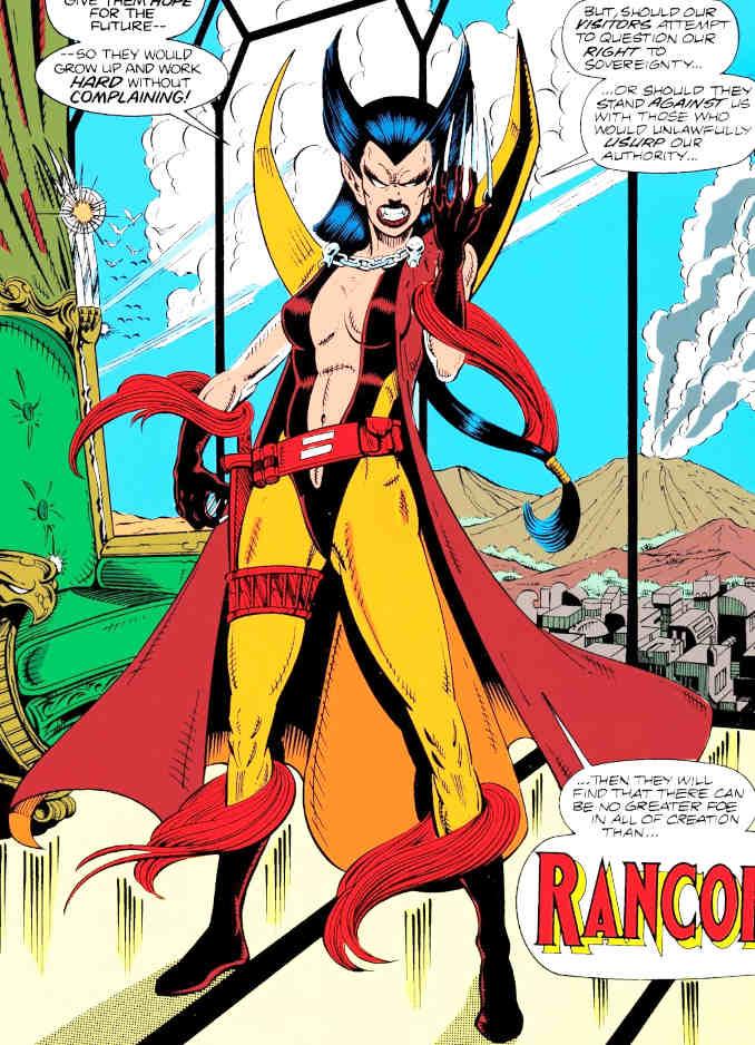 Wolverine version rancor