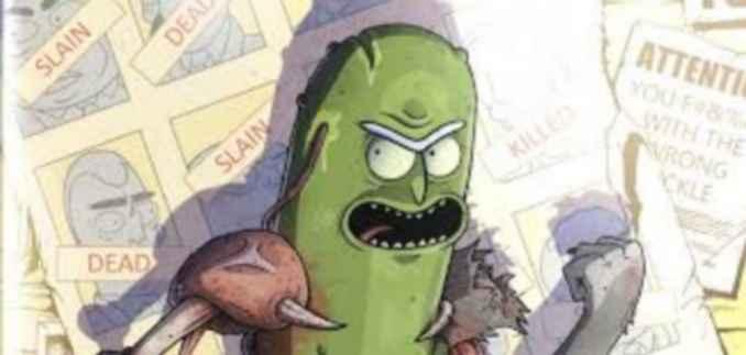 Rick-ornichon