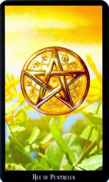 Tarot Ace of Pentacles