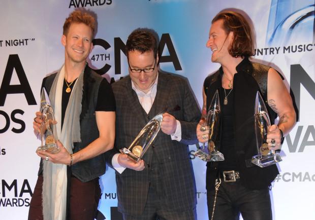 47th CMA Awards press room