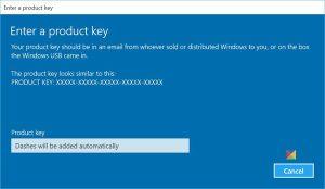 windows 10 ultimate product key