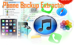 iPhone Backup Extractor Crack Full Activation Registration Key Download!