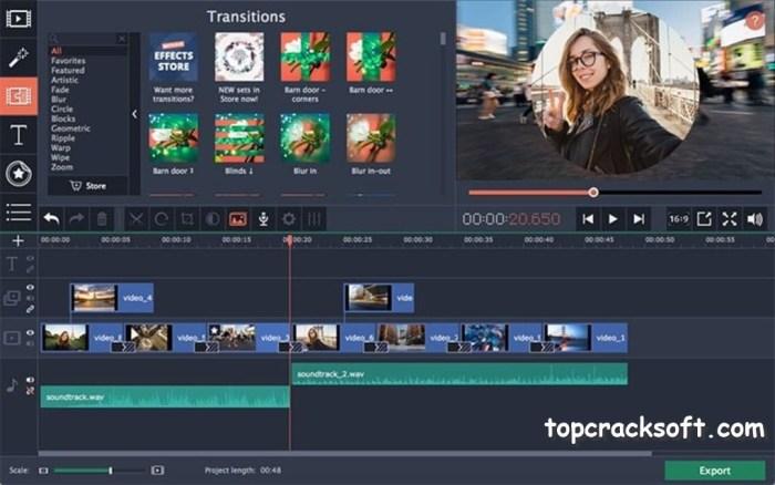 Movavi Video Editor Activation Key 2021