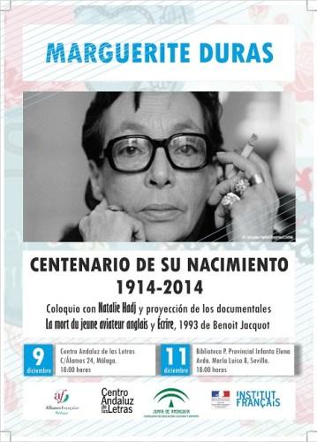 Marguerite Duras flyers