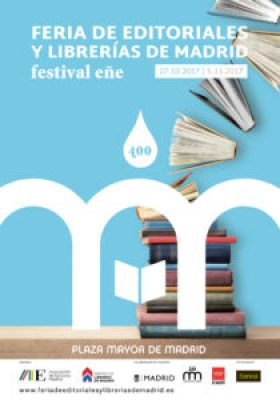 Cartel Feria de Editoriales y Librerías de Madrid 2017