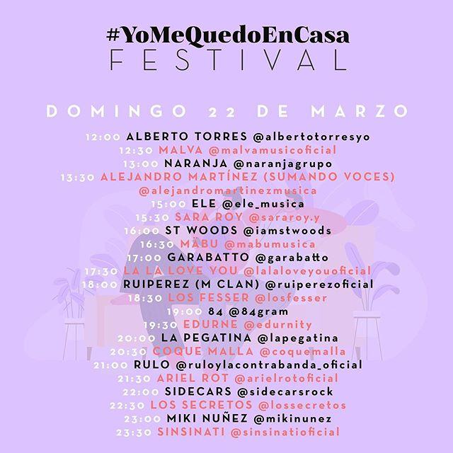 YoMeQuedoEnCasaFestival