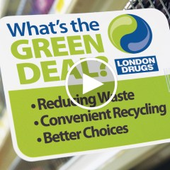 What's The Green Deal At London Drugs?