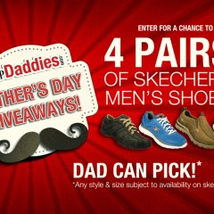 Father's Day Giveaway! FOUR Pairs of Skechers Men's Shoes