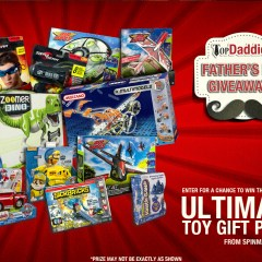 Ultimate Father's Day Toy Giveaway!