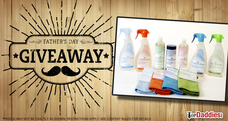 Father's Day Giveaway - Aspen Clean