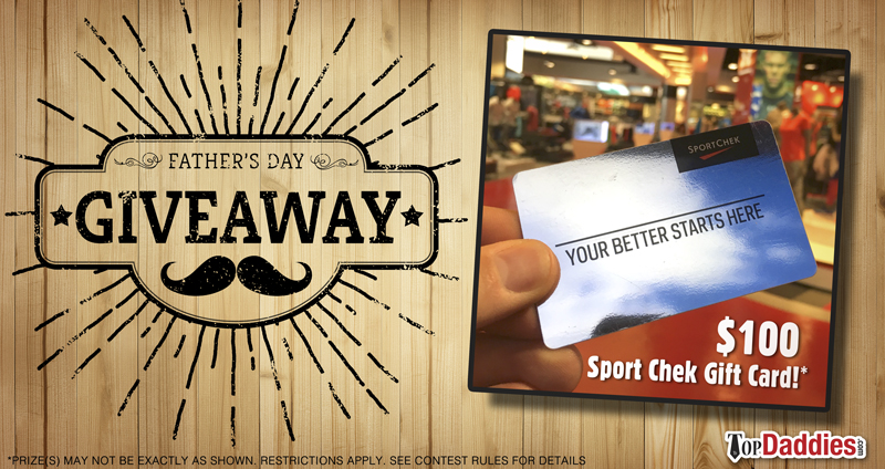 Father's Day Giveaway - Sport Chek