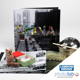 London Drugs Photo Lab Custom Book