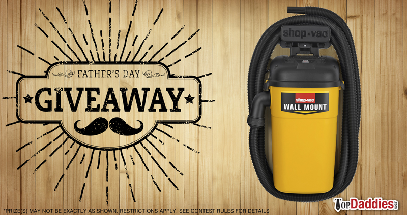 Father's Day Shop-Vac Giveaway
