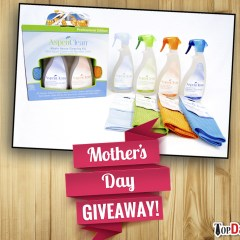 Mother's Day Giveaway | Aspen Clean Whole House Cleaning Kit!